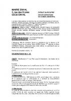 Délibération du conseil municipal du 23 mai 2014 motivant la modification