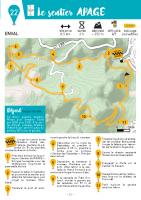 Plan de l'offfice de tourisme Terravolcana